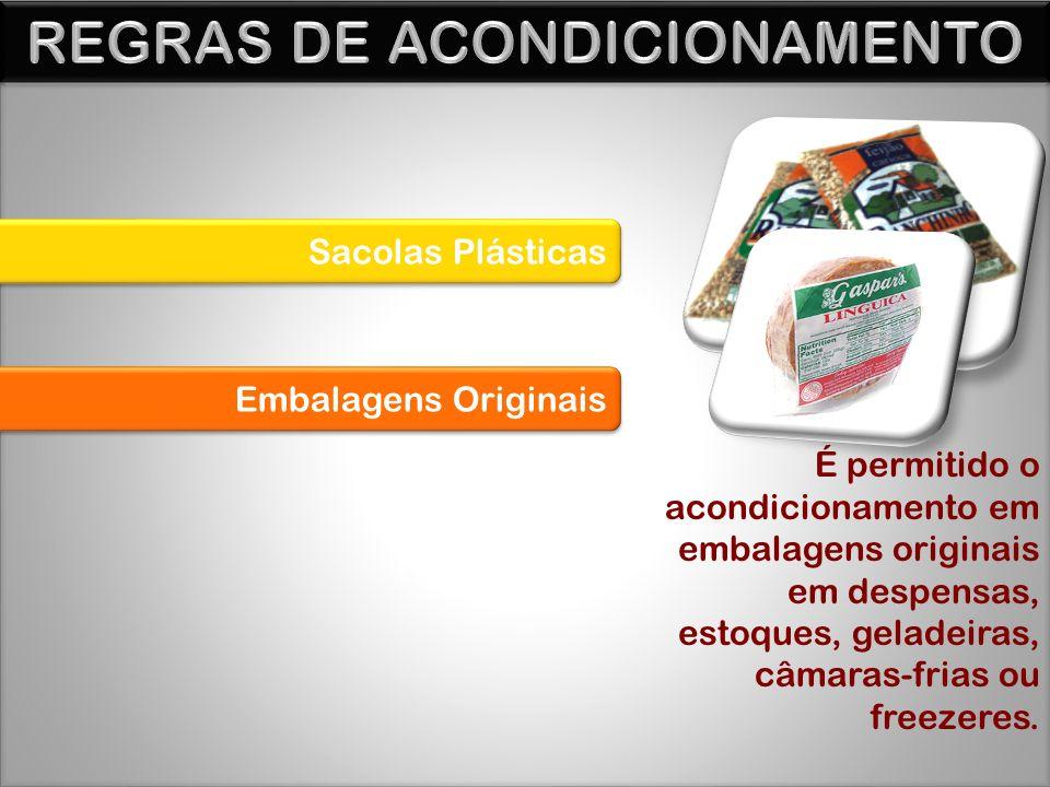 REGRAS DE ACONDICIONAMENTO