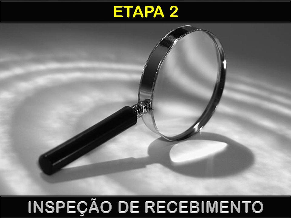 INSPEÇÃO DE RECEBIMENTO