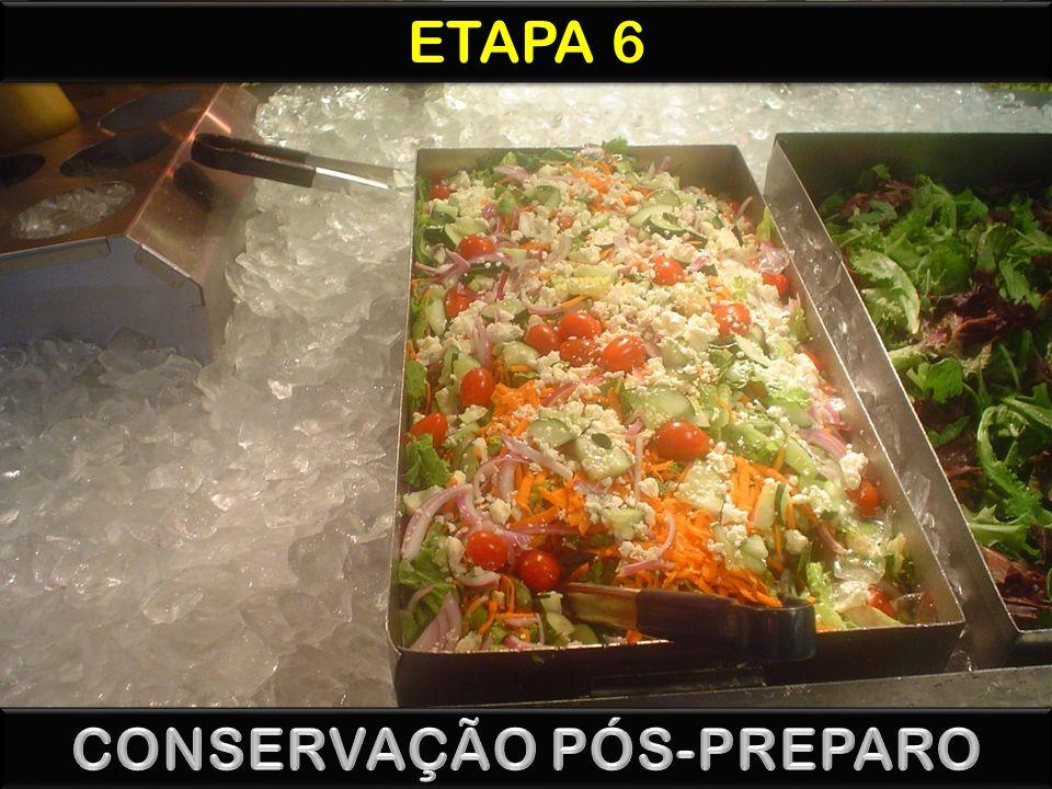 CONSERVAÇÃO PÓS-PREPARO