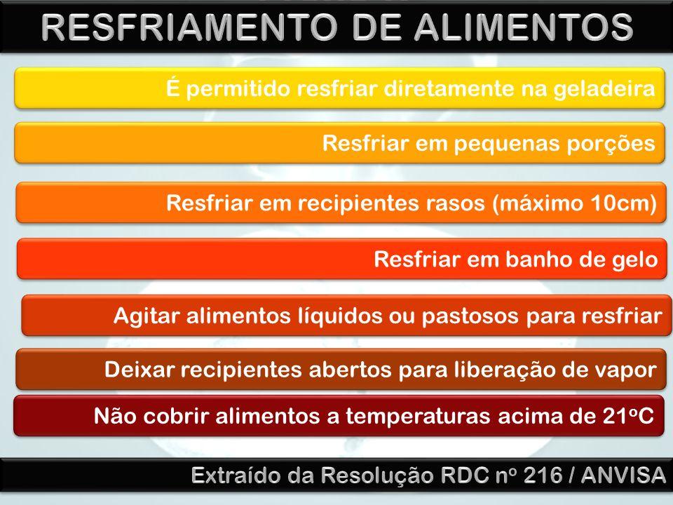 RESFRIAMENTO DE ALIMENTOS