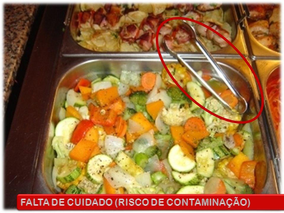 FALTA DE CUIDADO (RISCO DE CONTAMINAÇÃO)