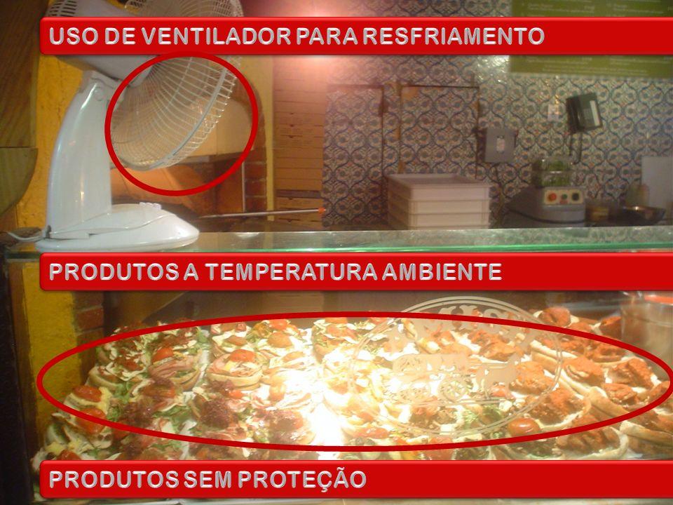 USO DE VENTILADOR PARA RESFRIAMENTO