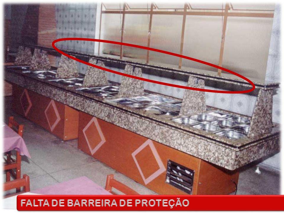 FALTA DE BARREIRA DE PROTEÇÃO