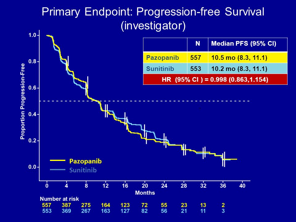 Primary Endpoint: Progression-free Survival (investigator)