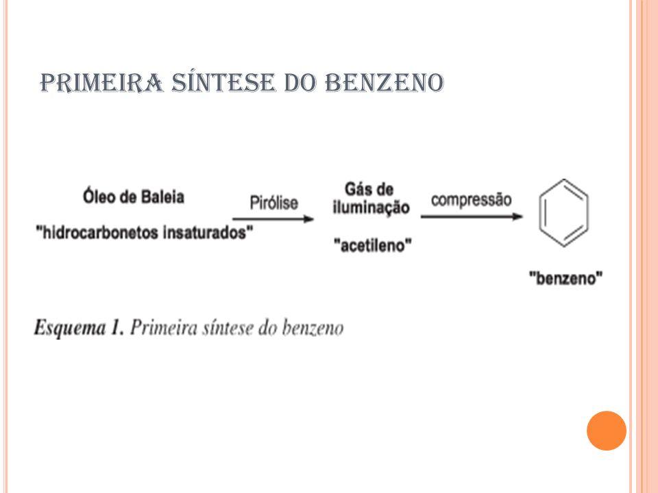 PRIMEIRA SÍNTESE DO BENZENO