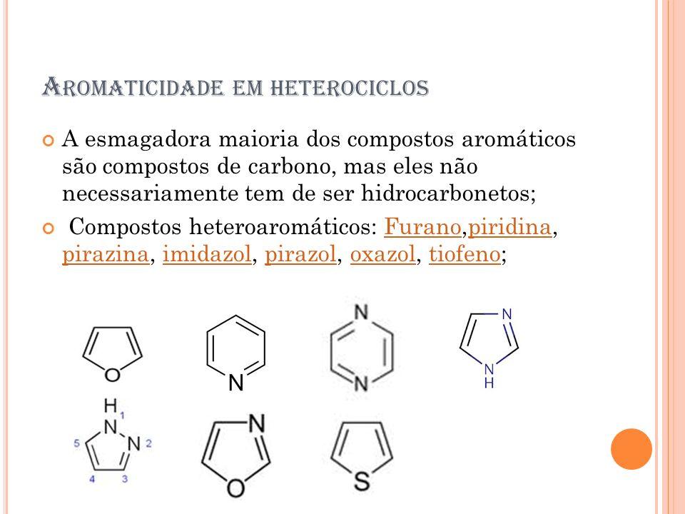 Aromaticidade em heterociclos