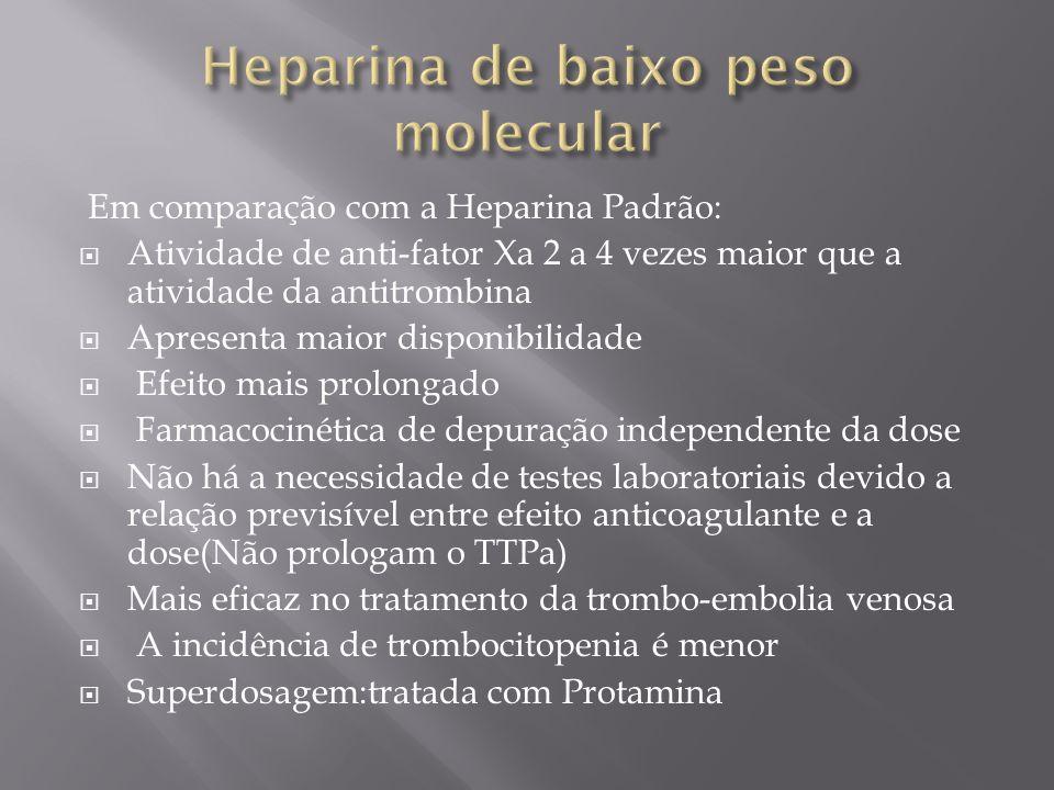Heparina de baixo peso molecular