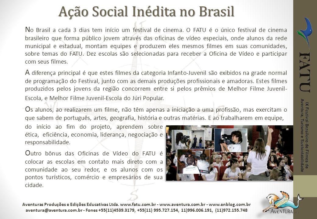 Ação Social Inédita no Brasil