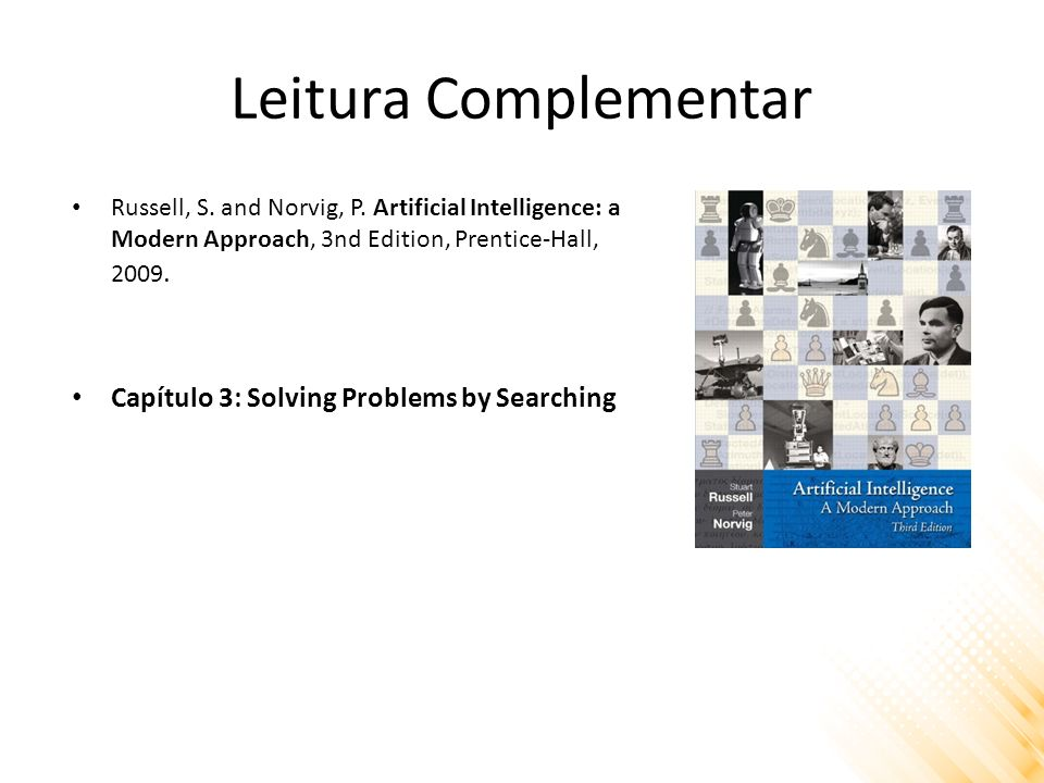 Leitura Complementar Capítulo 3: Solving Problems by Searching