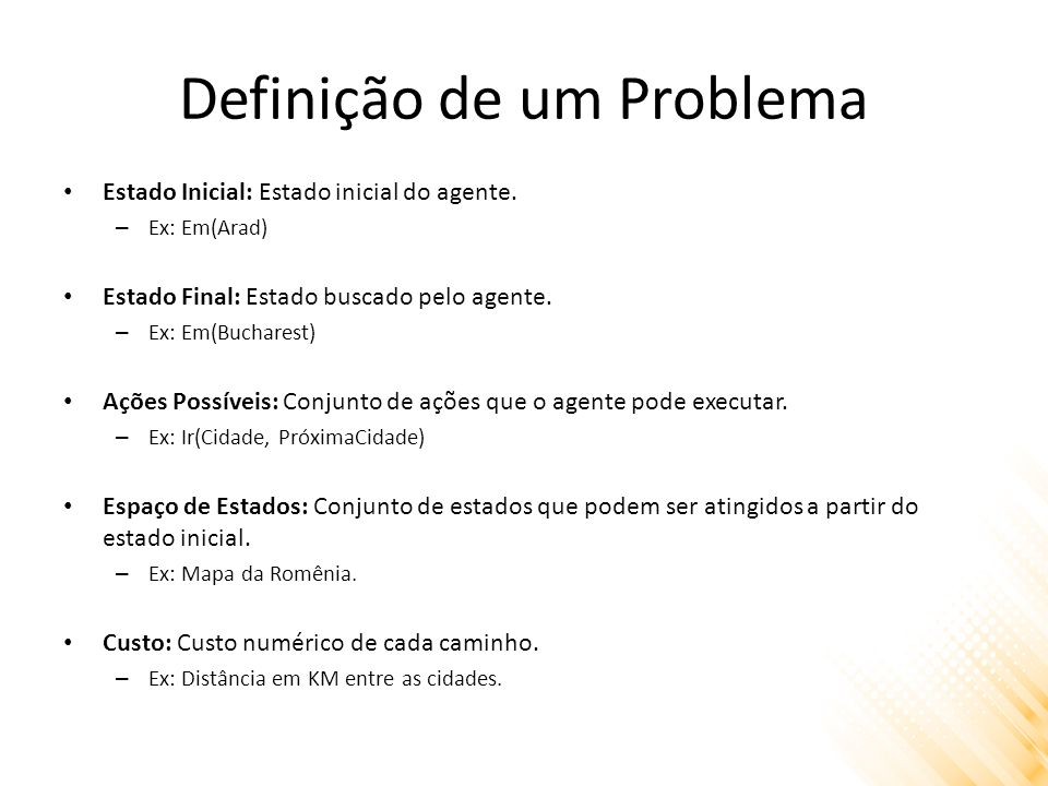 Definição de um Problema