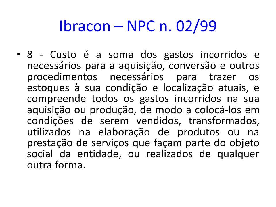 Ibracon – NPC n. 02/99