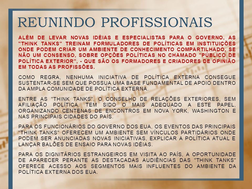 REUNINDO PROFISSIONAIS