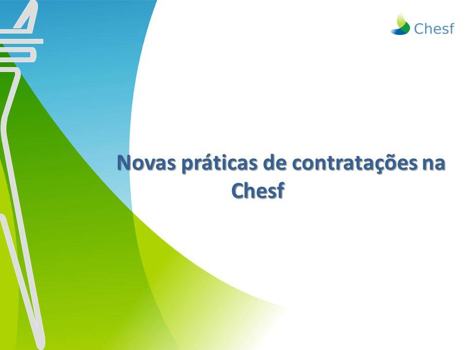 Novas práticas de contratações na Chesf