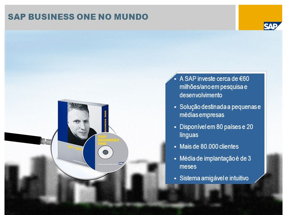 SAP BUSINESS ONE NO MUNDO