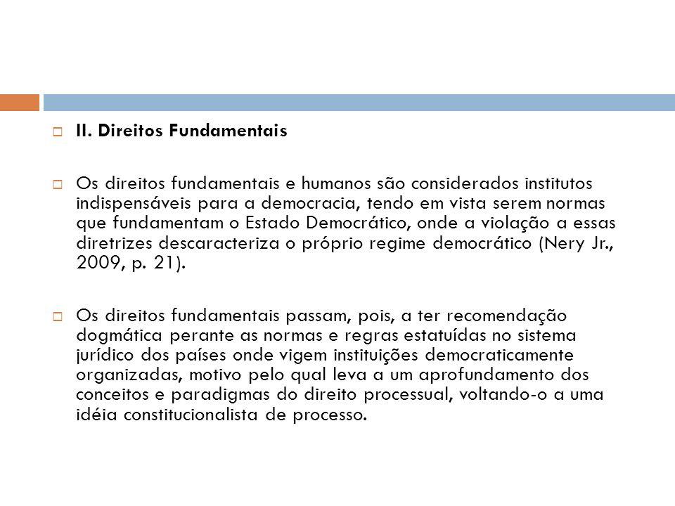 II. Direitos Fundamentais