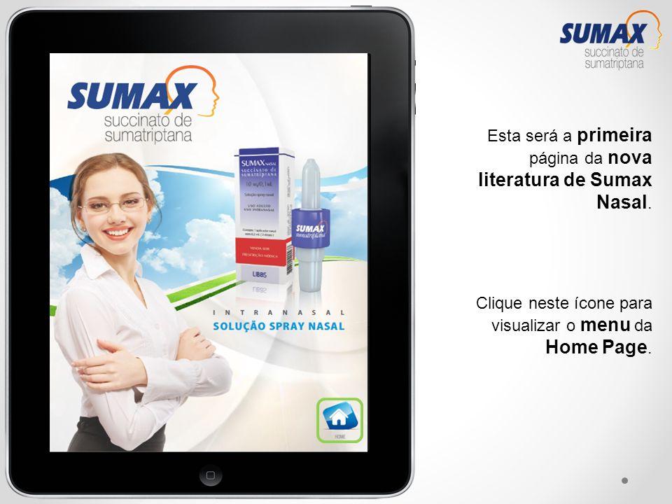 Esta será a primeira página da nova literatura de Sumax Nasal.