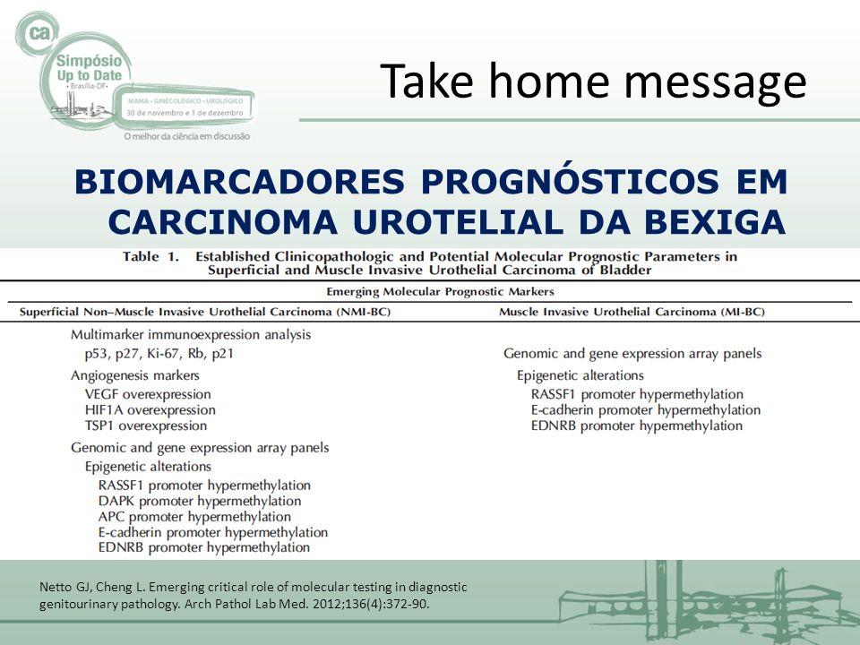BIOMARCADORES PROGNÓSTICOS EM CARCINOMA UROTELIAL DA BEXIGA