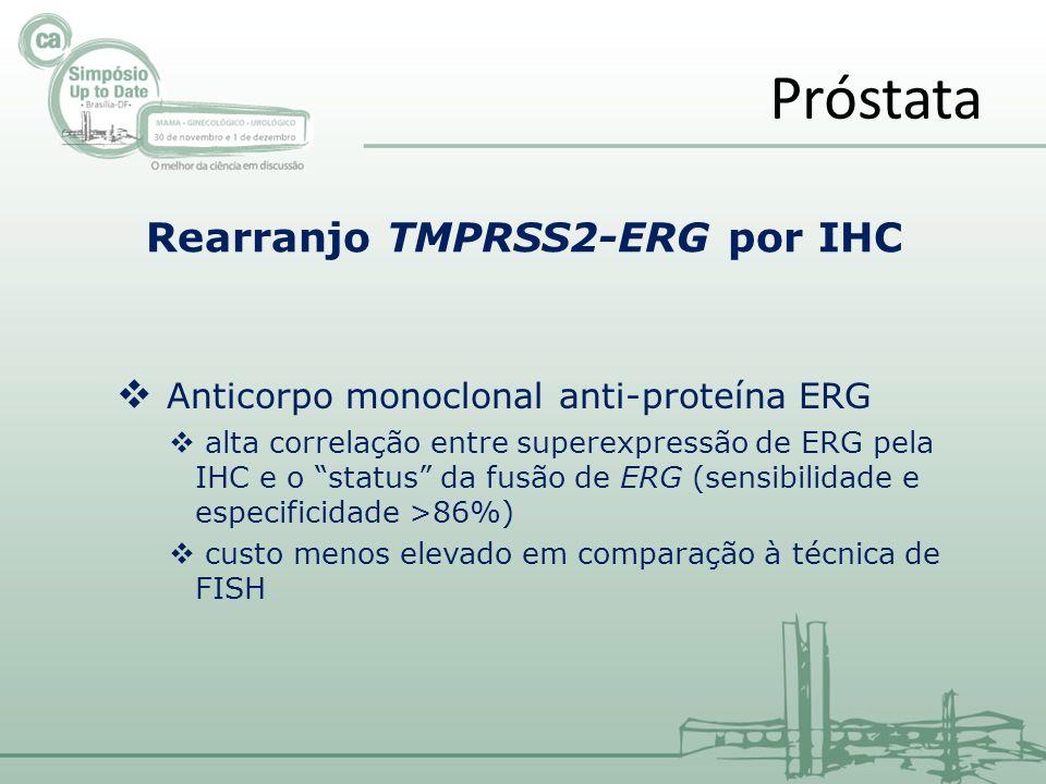 Rearranjo TMPRSS2-ERG por IHC