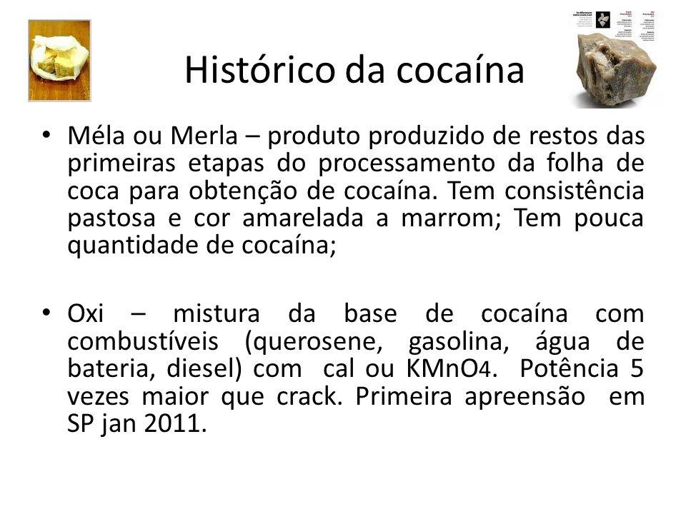Histórico da cocaína