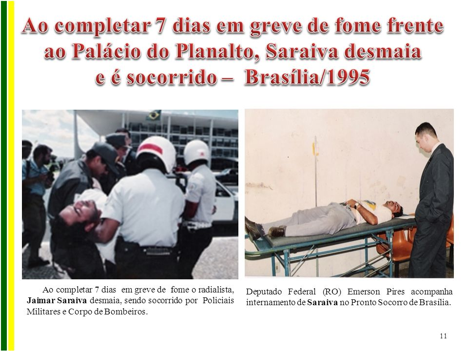 e é socorrido – Brasília/1995