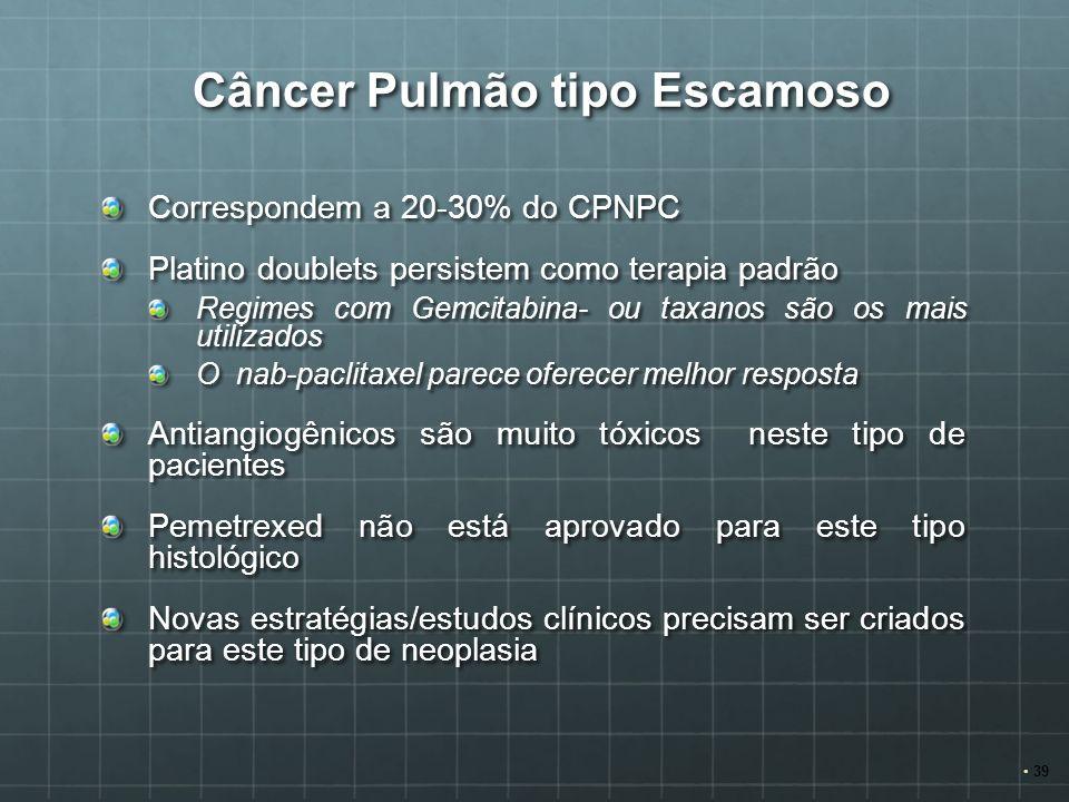 Câncer Pulmão tipo Escamoso
