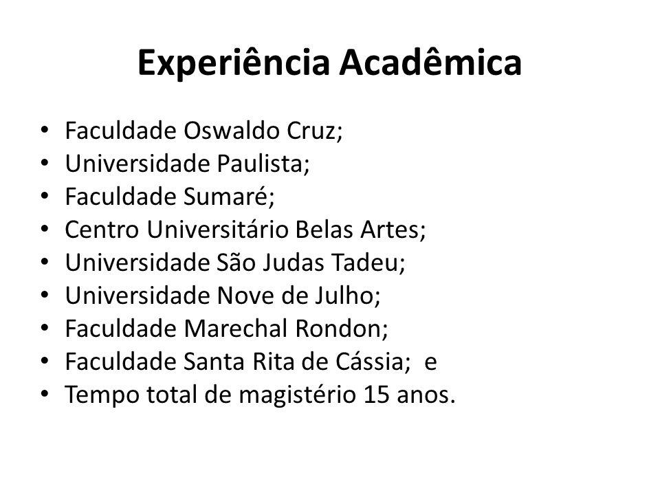 Experiência Acadêmica