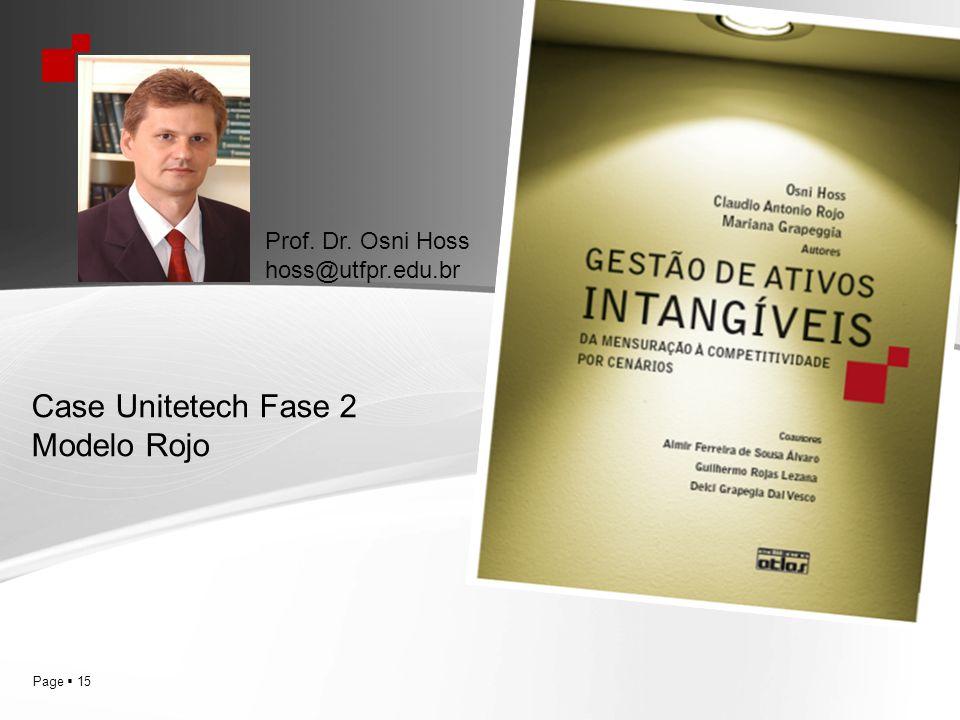 Case Unitetech Fase 2 Modelo Rojo Prof. Dr. Osni Hoss