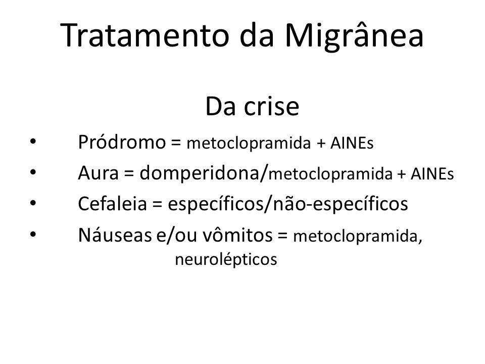 Tratamento da Migrânea
