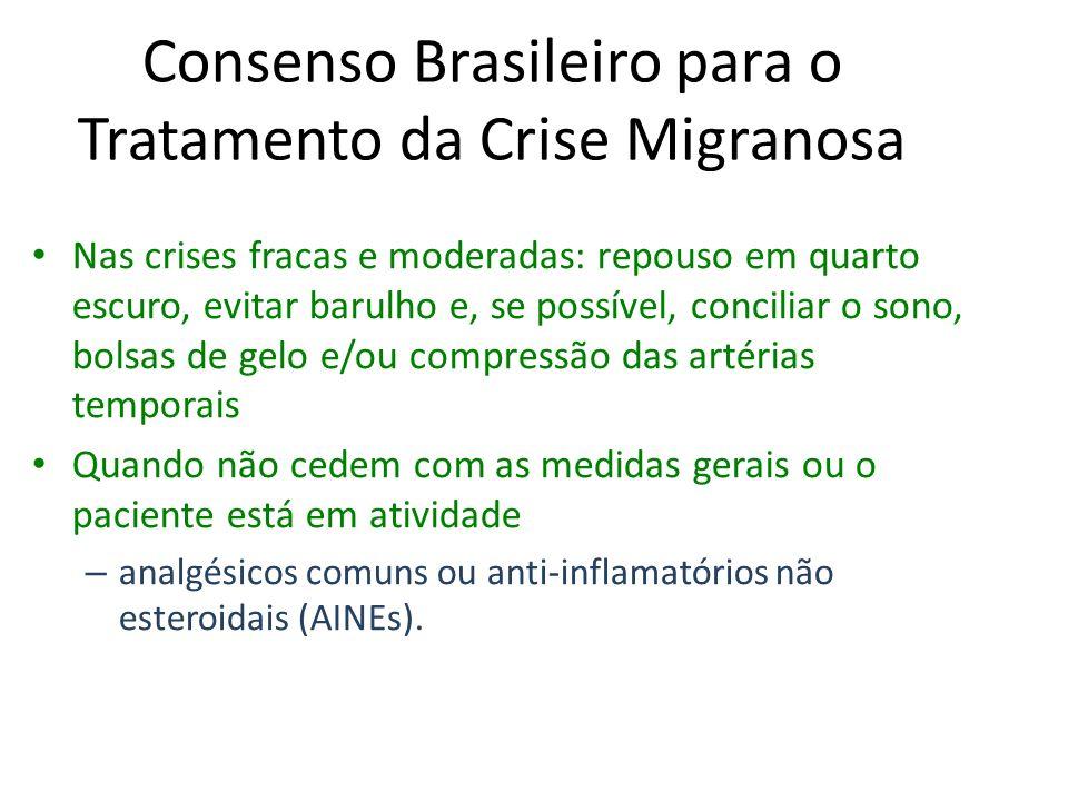 Consenso Brasileiro para o Tratamento da Crise Migranosa