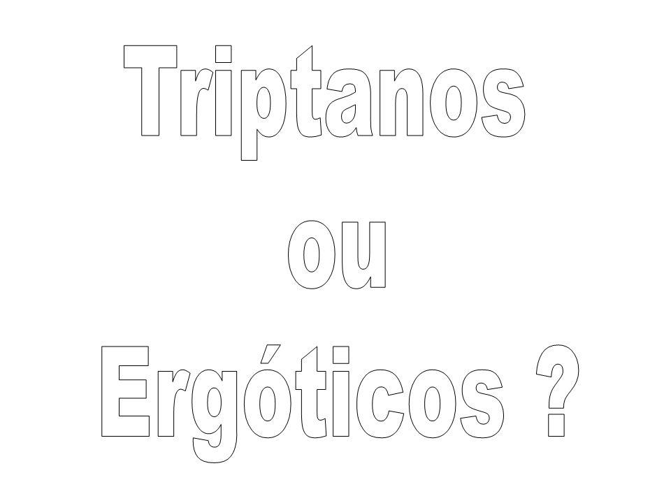 Triptanos ou Ergóticos