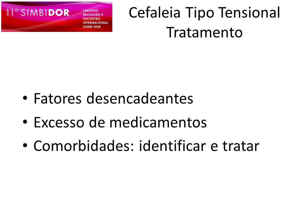 Cefaleia Tipo Tensional Tratamento