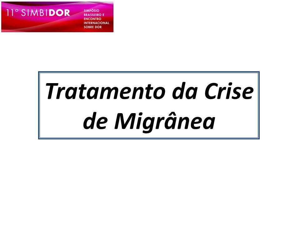 Tratamento da Crise de Migrânea