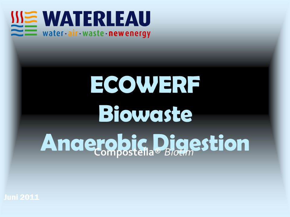 ECOWERF Biowaste Anaerobic Digestion