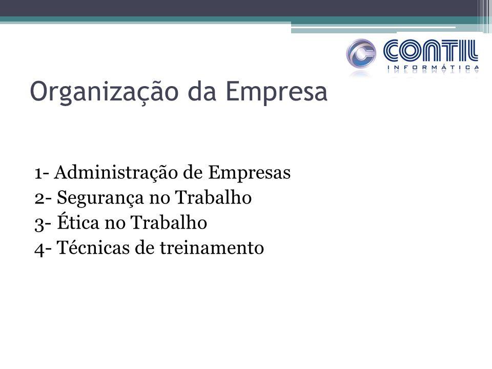Organização da Empresa