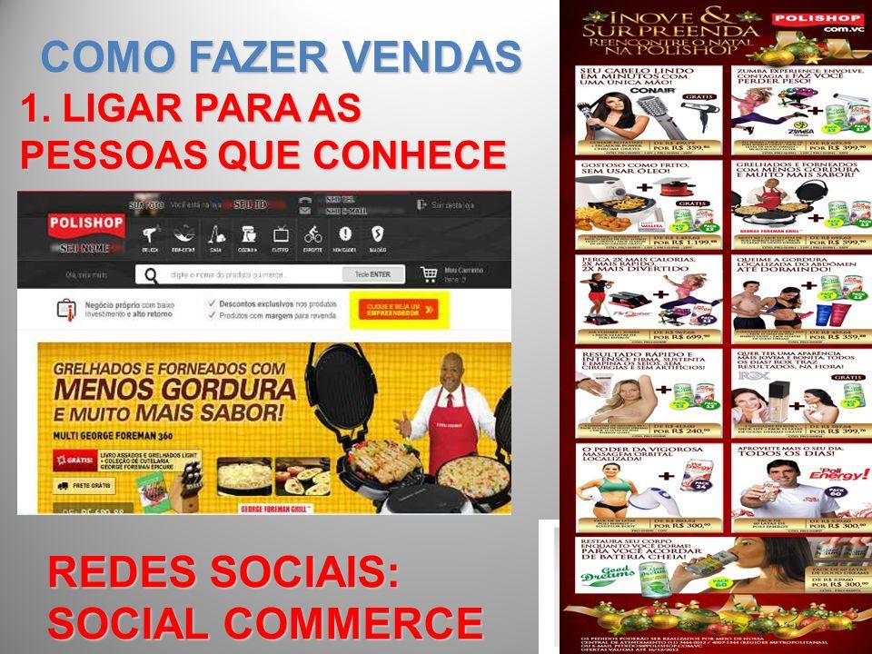 COMO FAZER VENDAS REDES SOCIAIS: SOCIAL COMMERCE
