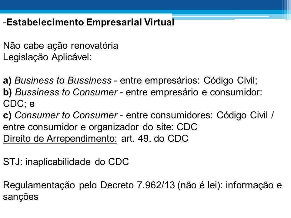 Estabelecimento Empresarial Virtual