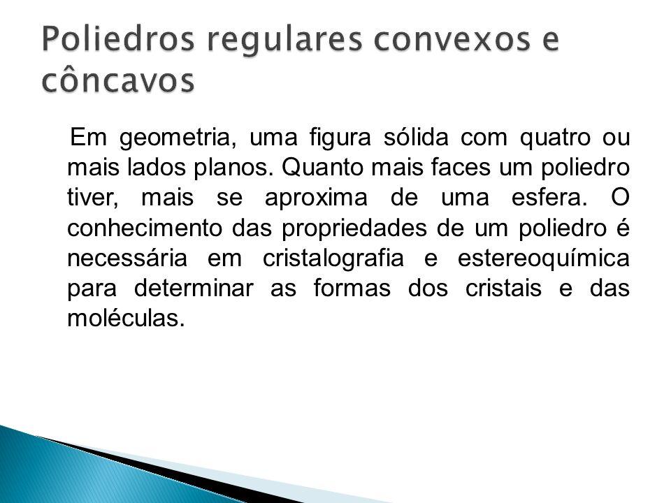 Poliedros regulares convexos e côncavos