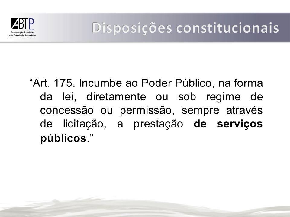 Disposições constitucionais