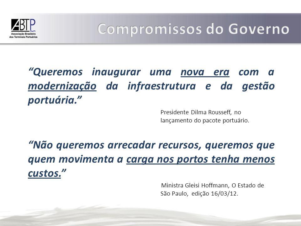 Compromissos do Governo