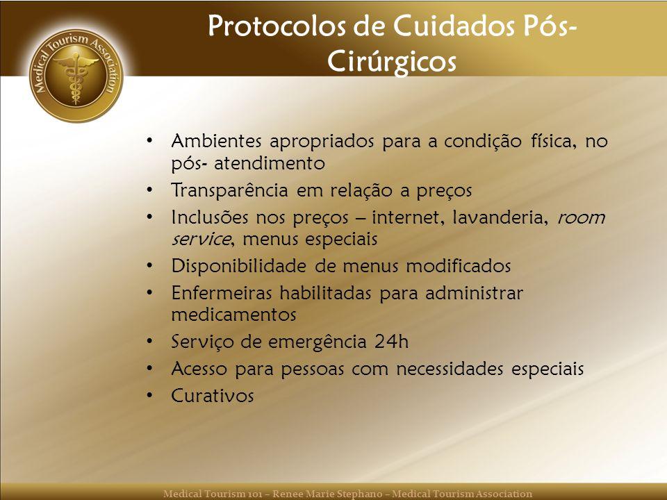 Protocolos de Cuidados Pós-Cirúrgicos