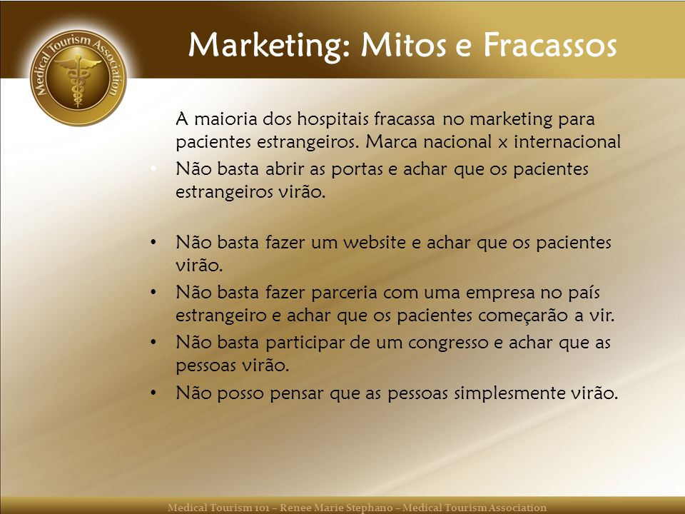 Marketing: Mitos e Fracassos