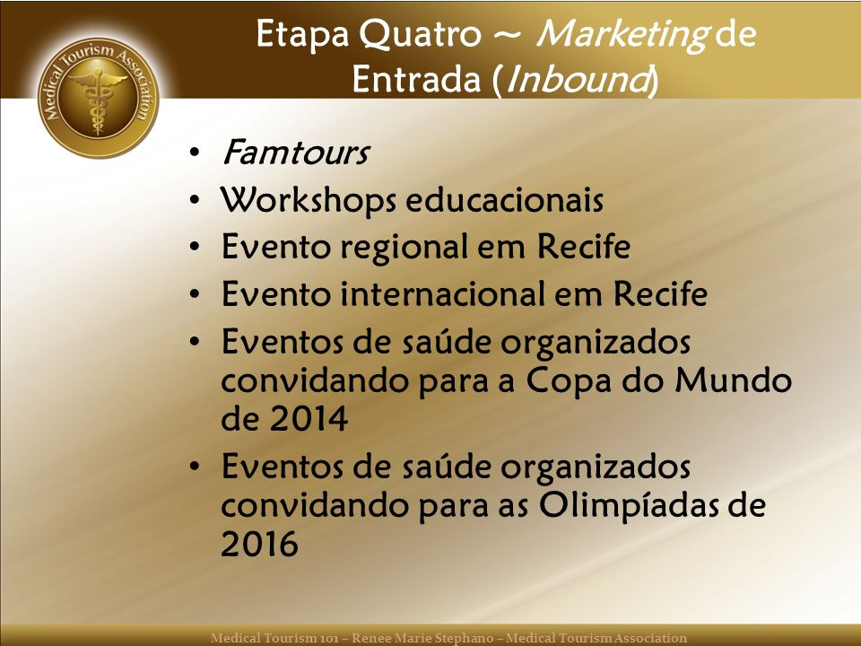 Etapa Quatro ~ Marketing de Entrada (Inbound)