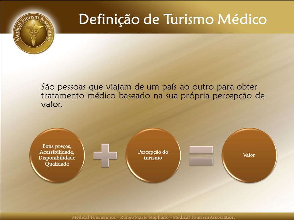 Definição de Turismo Médico