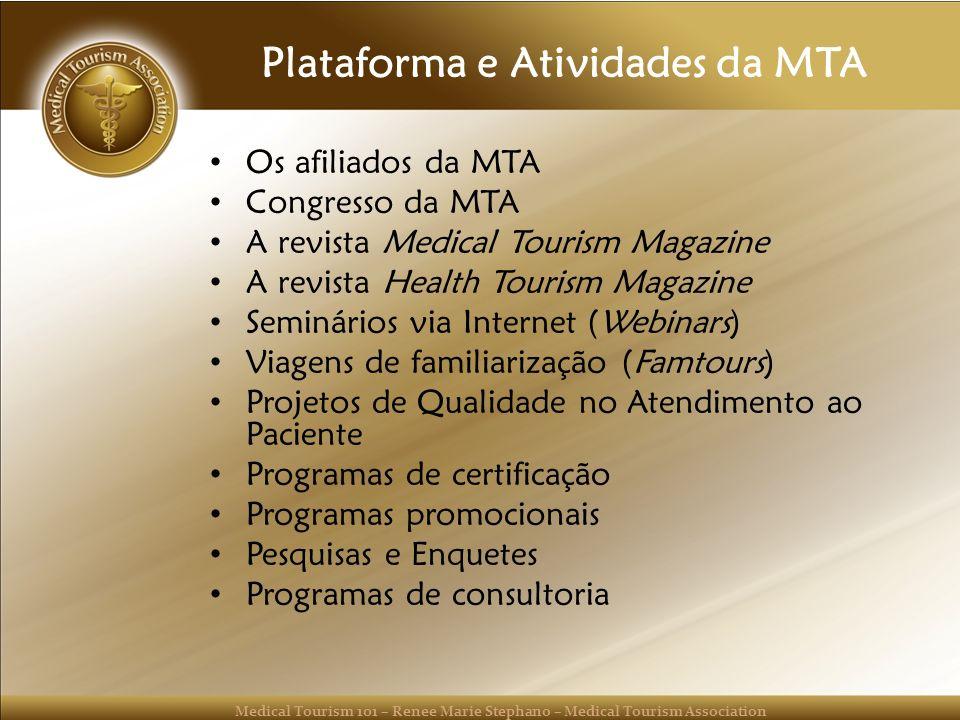 Plataforma e Atividades da MTA