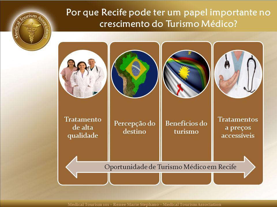 Por que Recife pode ter um papel importante no crescimento do Turismo Médico