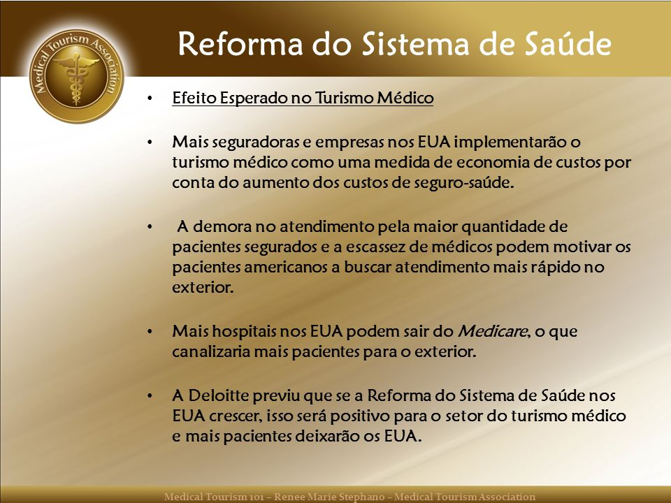 Reforma do Sistema de Saúde