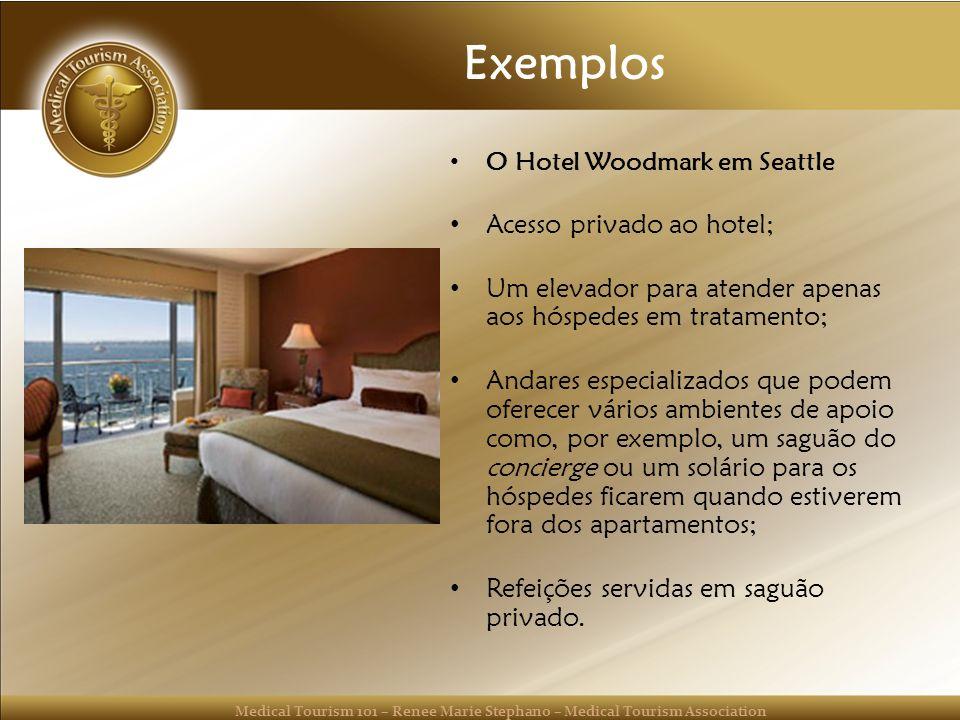 Exemplos Acesso privado ao hotel;
