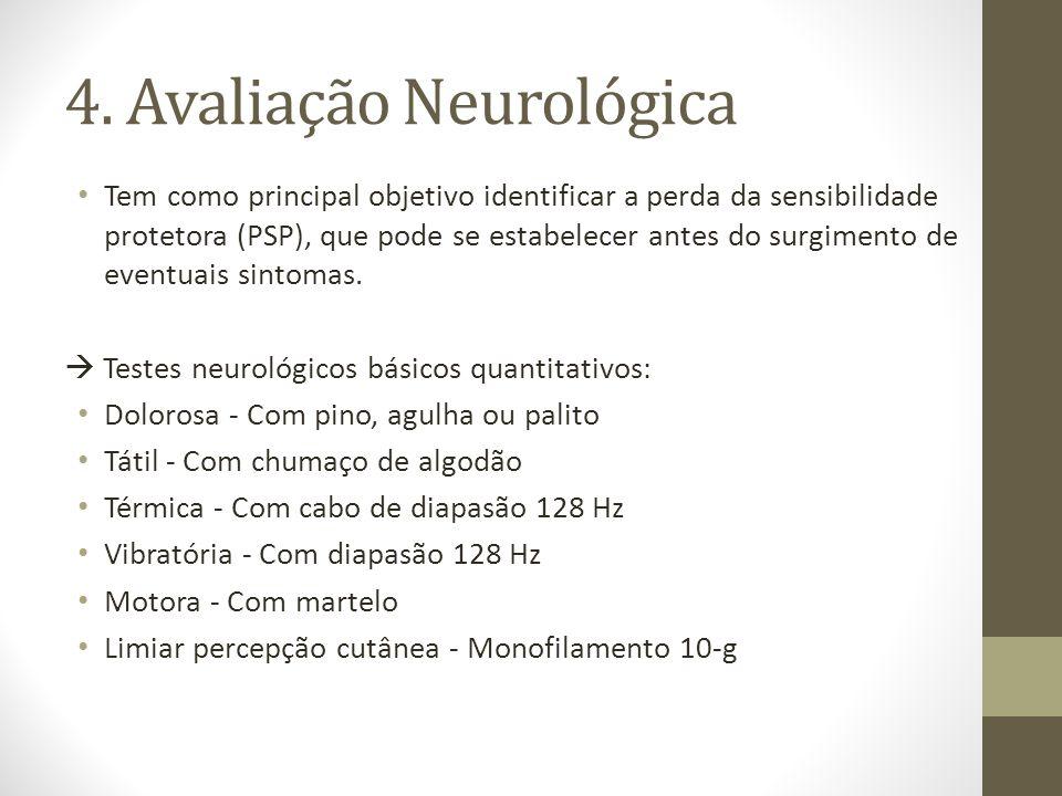 4. Avaliação Neurológica