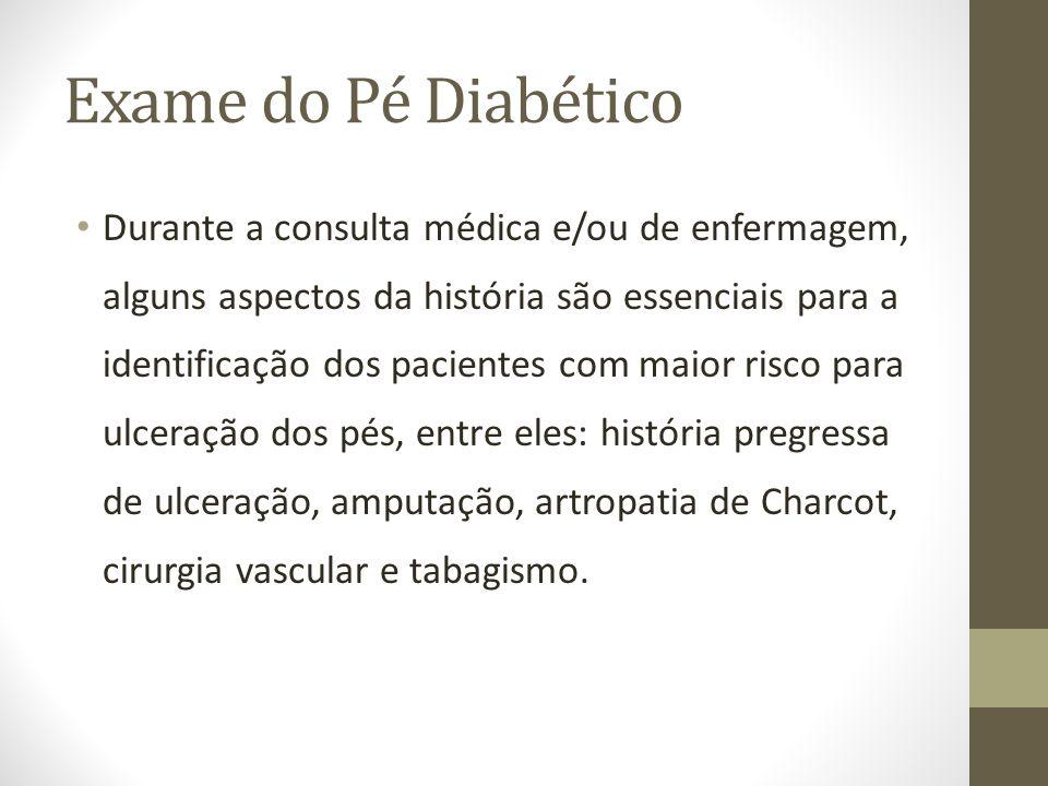 Exame do Pé Diabético