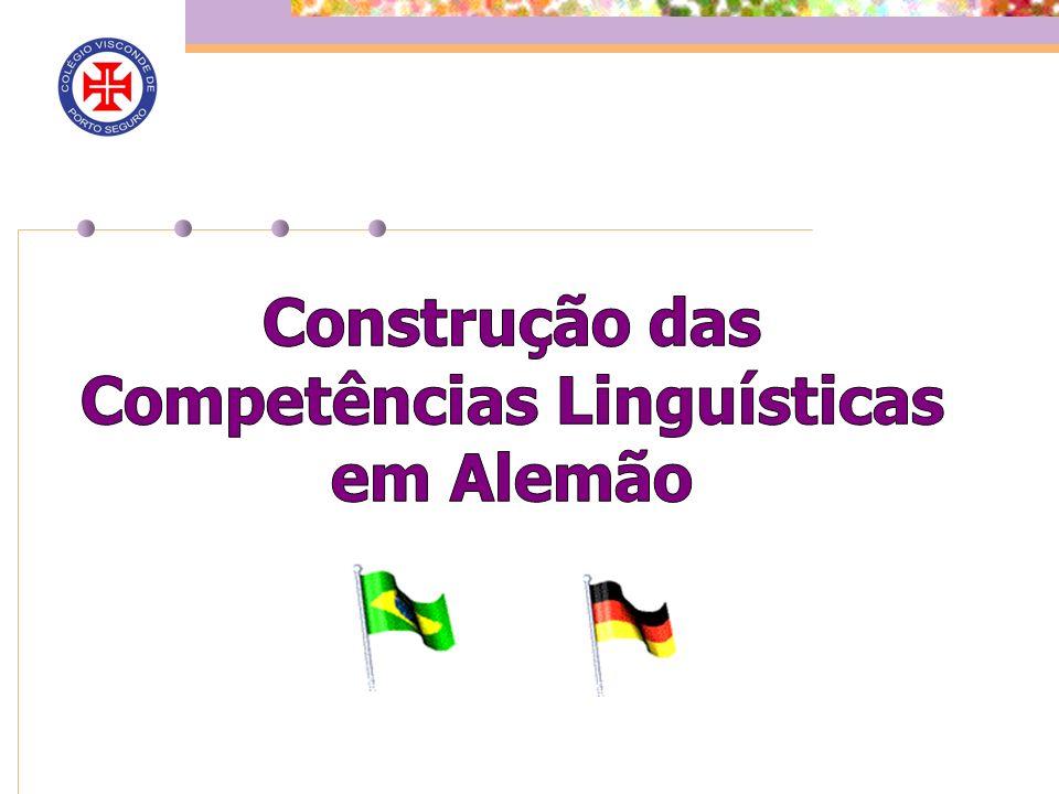 Construção das Competências Linguísticas em Alemão